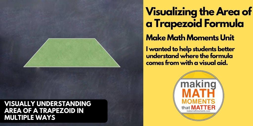 Visualizing the Area of a Trapezoid Formula