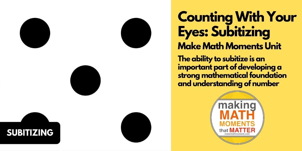 Counting With Your Eyes: Subitizing