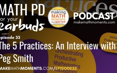Episode #33 The 5 Practices: An Interview with Peg Smith