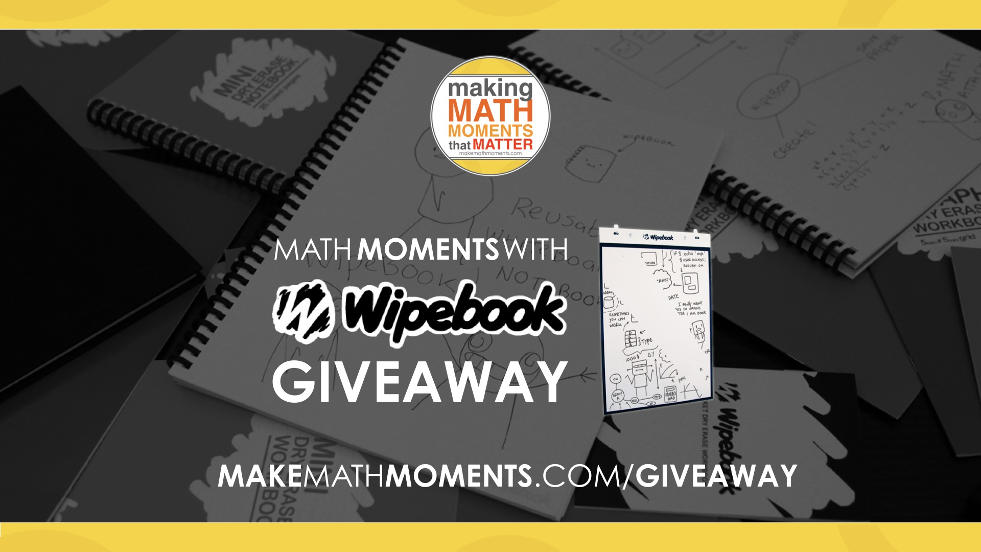 Math Moments With Wipebook Giveaway