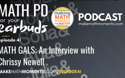 Episode #41 – Math Gals: An Interview With Chrissy Newell