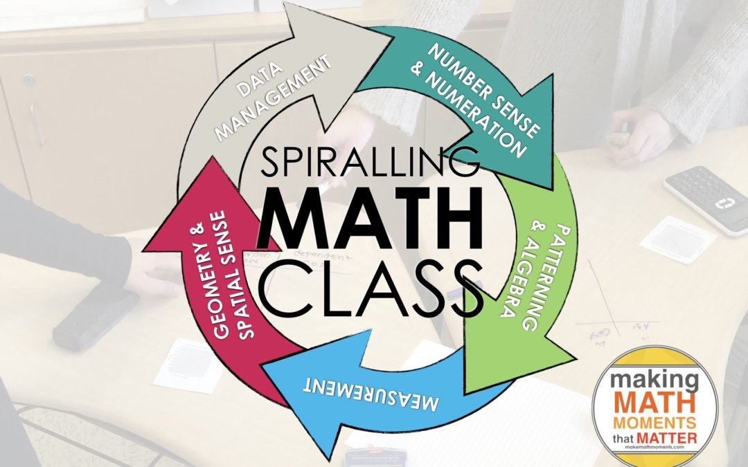 Episode #42: How Do I Spiral My Math Standards Without Spiralling Out Of Control! [Part 2 of A Math Mentoring Moment]