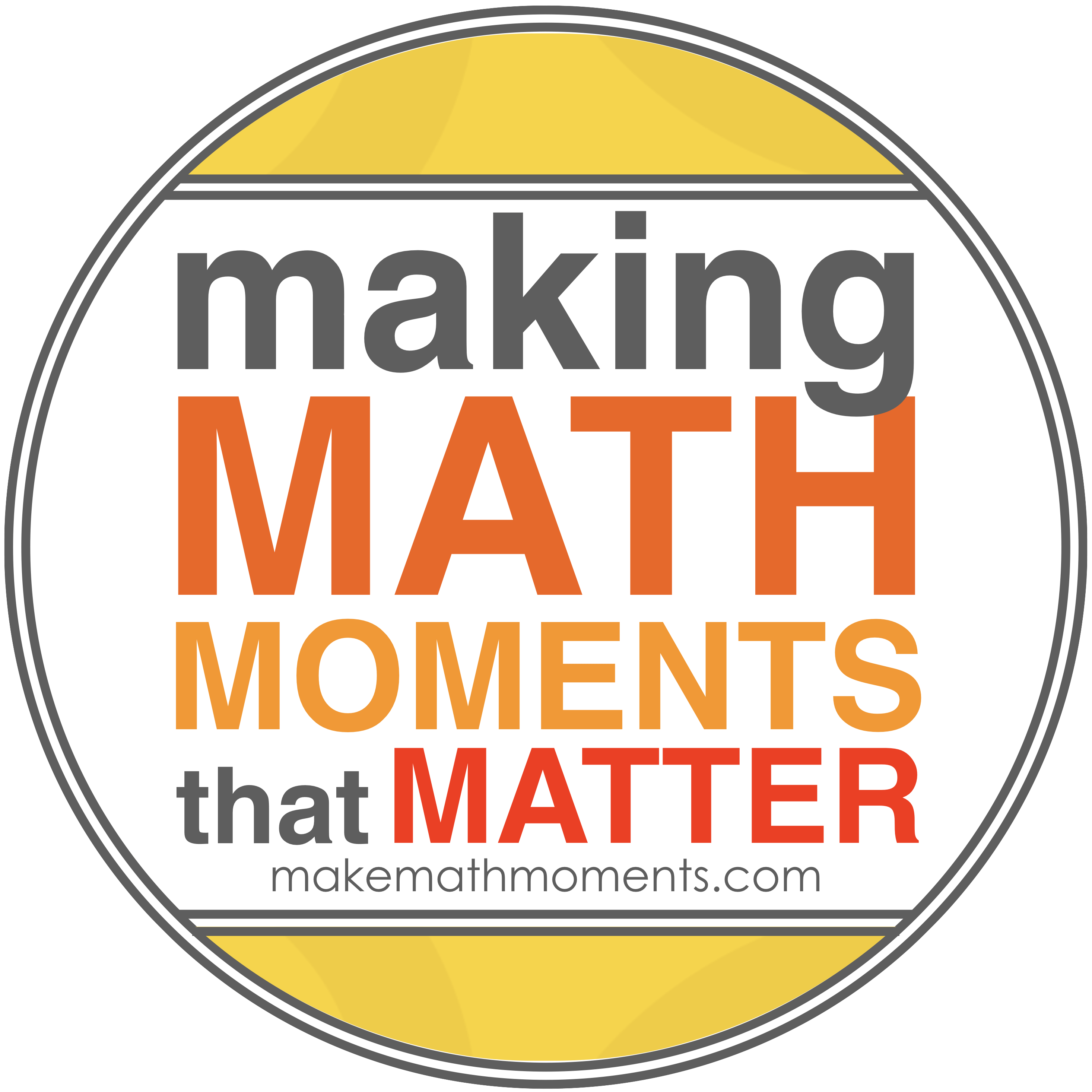 Make Math Moments Logo