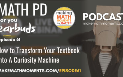 Episode #61 How to Transform Your Textbook Into A Curiosity Machine