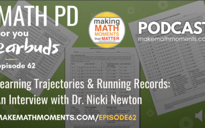 Episode #62: Learning Trajectories & Running Records: An Interview with Dr. Nicki Newton