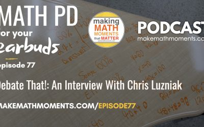 Episode #77: Up For Debate – An Interview With Chris Luzniak