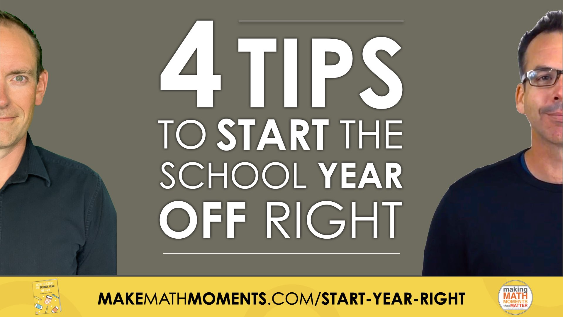 4 Tips To Start The School Year Off Right