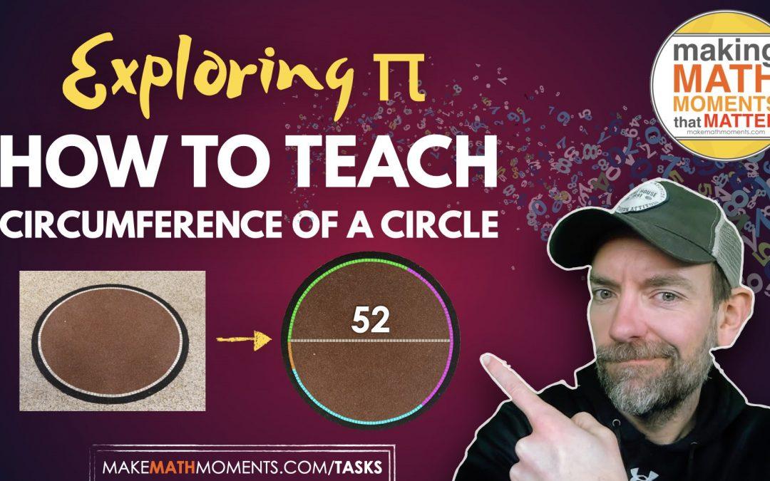 How To Teach Circumference of a Circle: Classroom Sneak Peek