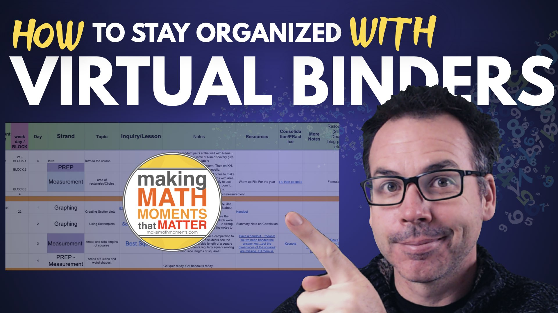 How To Organize Your Lessons & Courses with Virtual Binders