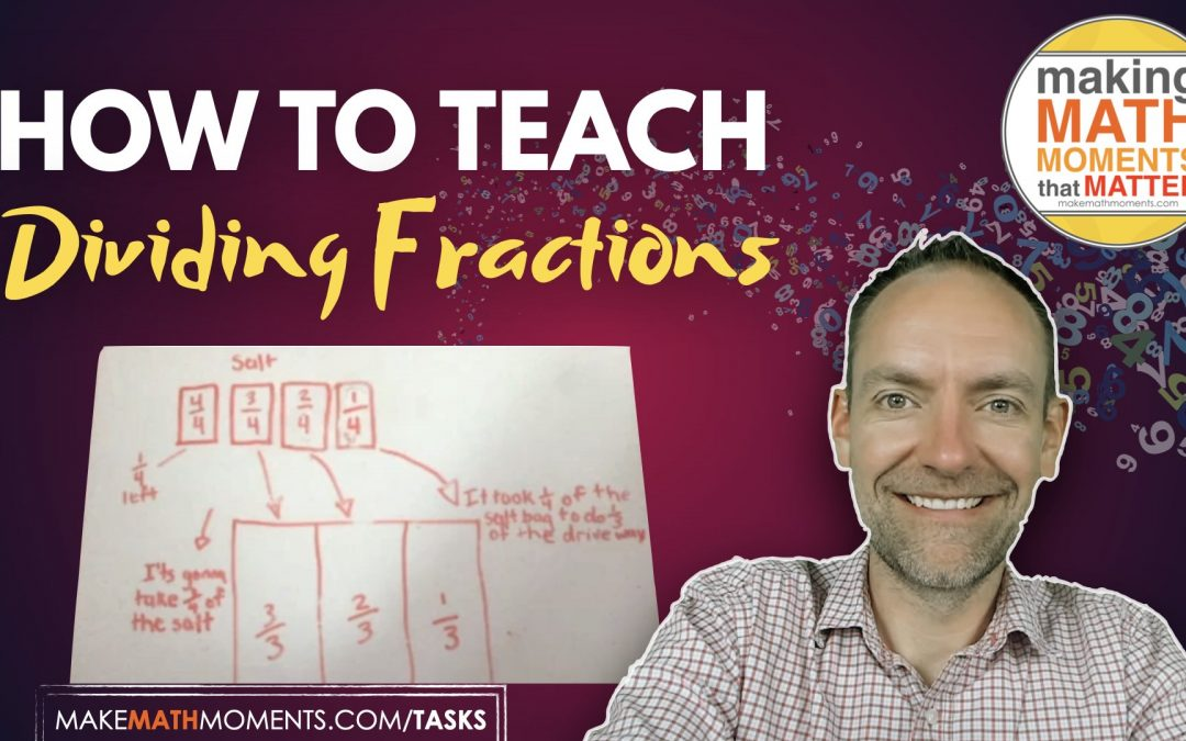How To Teach Dividing Fractions With Partitive Division