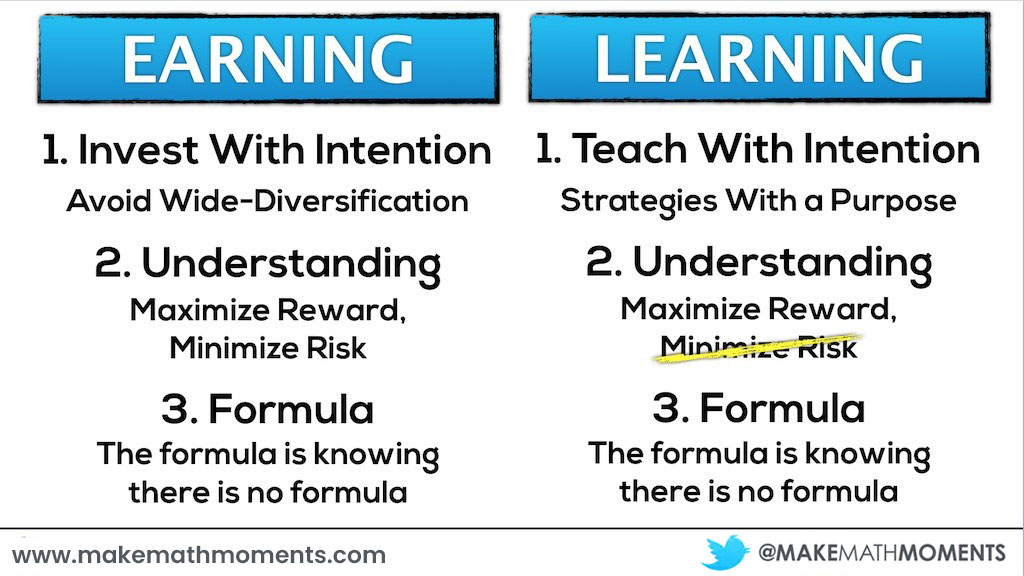 Comparing The 3 Keys to Earning With The 3 Keys to Learning