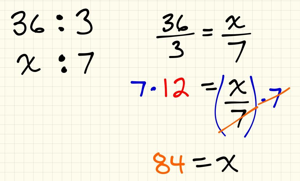 Scenario 3 - How many doughnuts in 7 boxes - proportion