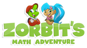 Zorbits Math Adventure Logo